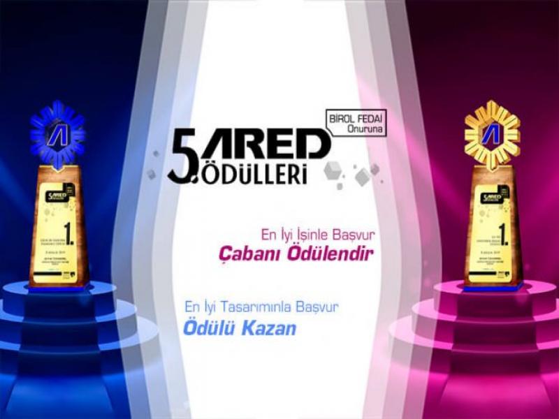 5. ARED Ödülleri 2019 İki Kategoride Gerçekleşiyor
