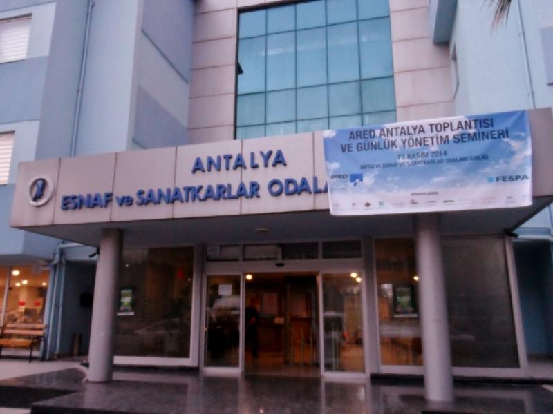 Yılın Son ARED İl Toplantısı ve Semineri Antalya'da Gerçekleşti