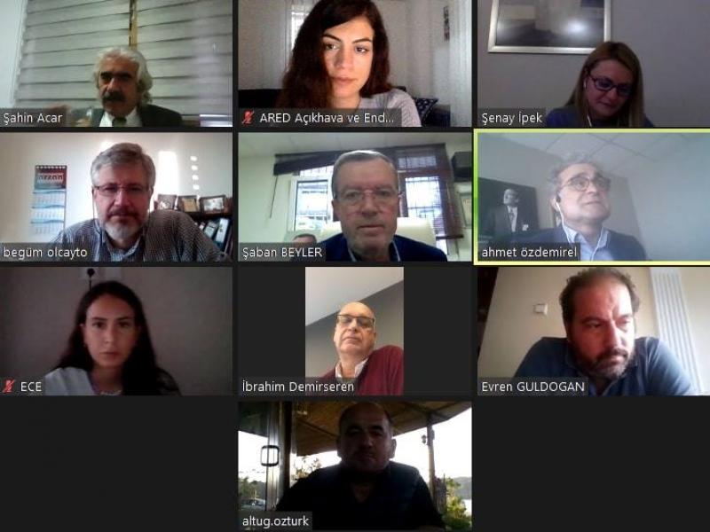 ARED Yönetim Kurulu Kasım Toplantısı da online gerçekleşti