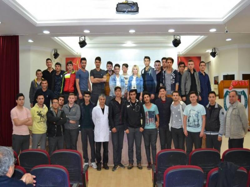 İzmir Mersinli MTAL'de Eğitimler Nisan 2017'de Hız Kesmeden Devam Etti