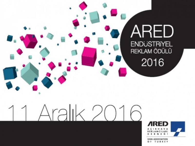 2016 ARED Endüstriyel Reklam Ödülü İçin Başvurular Açıldı