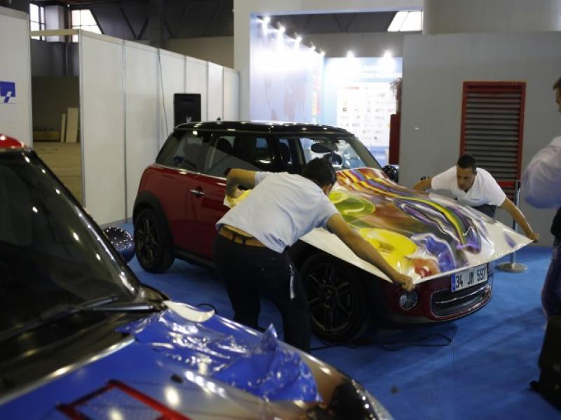 FESPA Eurasia 2014 Fuarı'nda ARED Araç Kaplama Yarışması Düzenleniyor