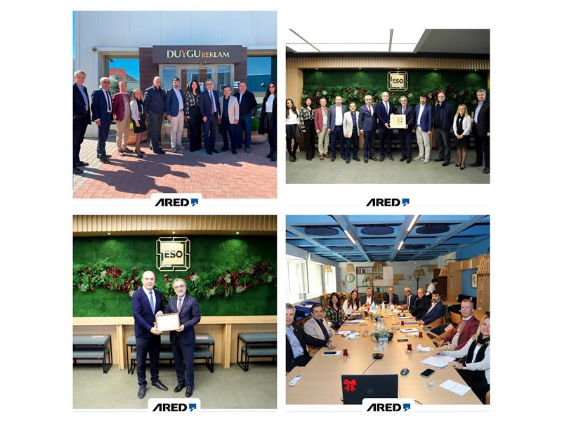 ARED, Eskişehir'e ziyaret gerçekleştirdi