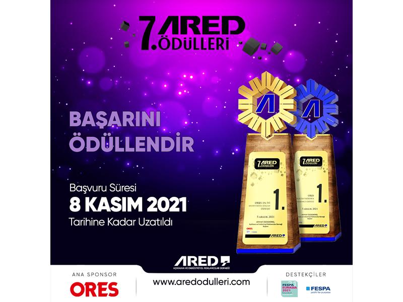 7. ARED Ödülleri'21 başvuruları uzatıldı