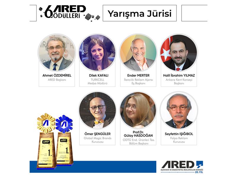6. ARED Ödülleri'20 jürisi açıklandı