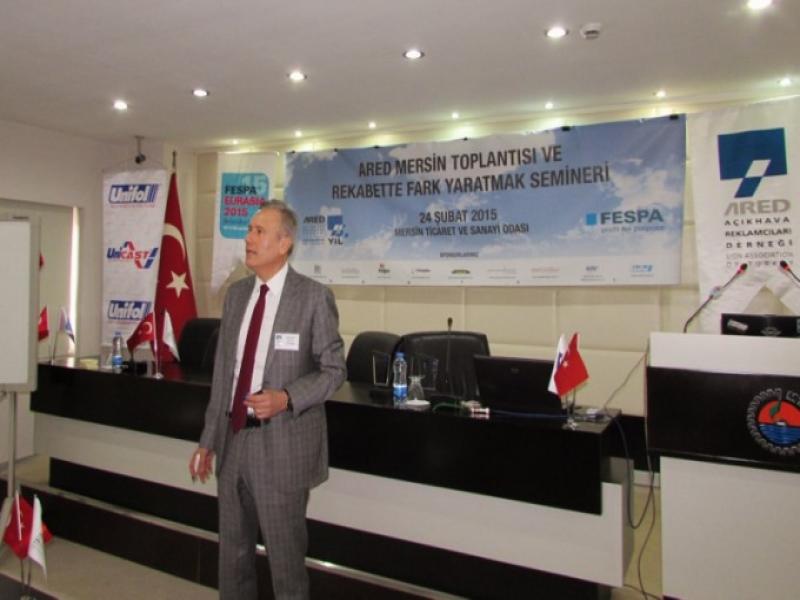 """Yılın İlk ARED Buluşması """"Rekabette Fark Yaratmak"""" Semineri ile Mersin'de Gerçekleşti"""