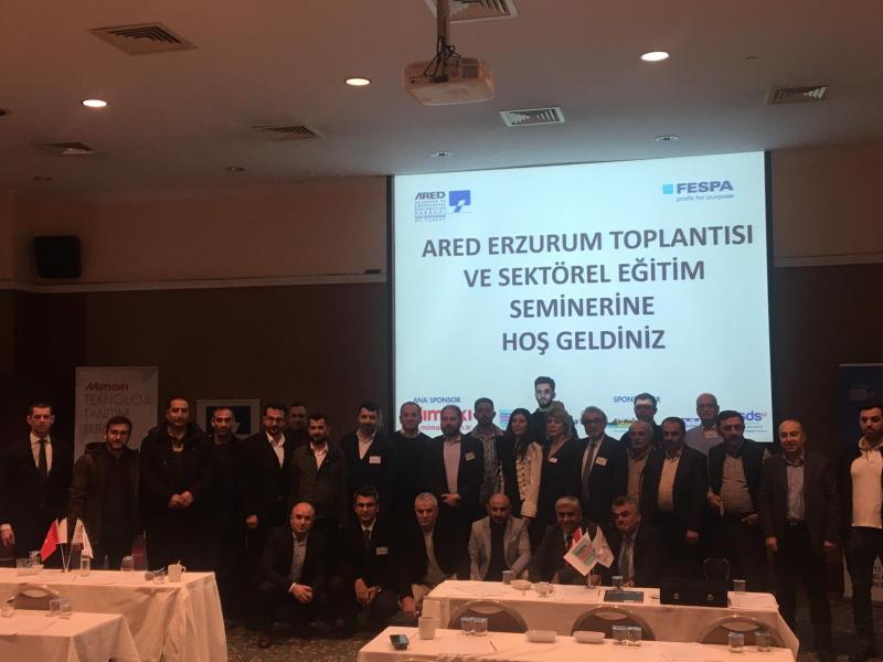 ARED, 2020 yılına Erzurum İl Toplantısı ve Sektörel Eğitim Semineriyle başladı