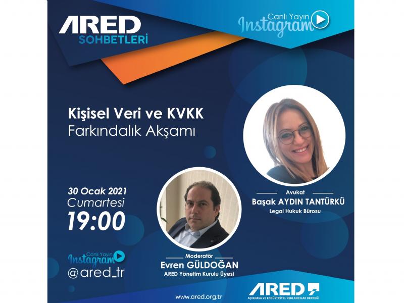 ARED Sohbetleri'nde KVKK farkındalığı gündeme alındı
