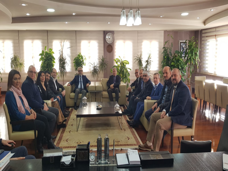 ARED Adana ziyaretleri