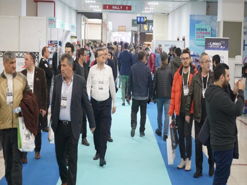 FESPA Eurasia 2019 ziyaretçi rekoru kırdı!