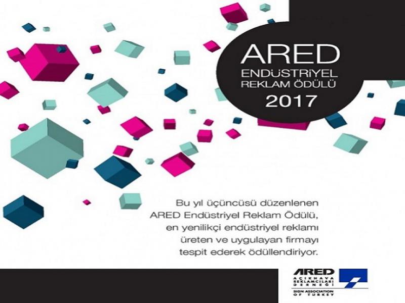 2017 ARED Endüstriyel Reklam Ödülleri'nin Finalistleri Belli Oldu