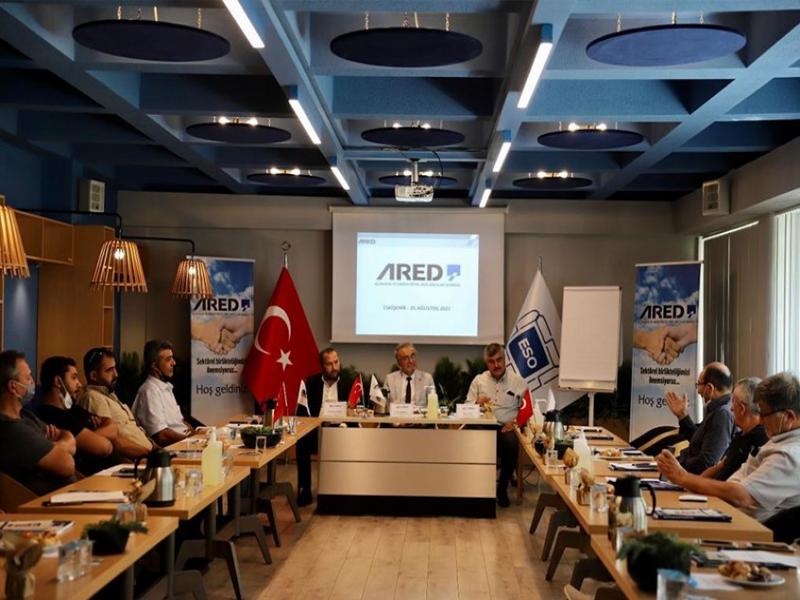"""ARED Başkanı Ahmet Özdemirel; """"Eskişehir için Sektördeki Birlikteliği Önemsiyoruz"""""""