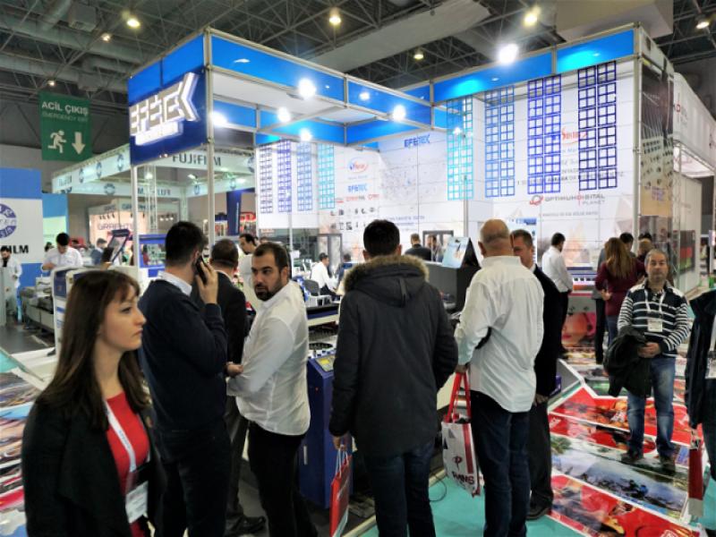 FESPA Eurasia 2018 için Çalışmalar Hız Kazandı