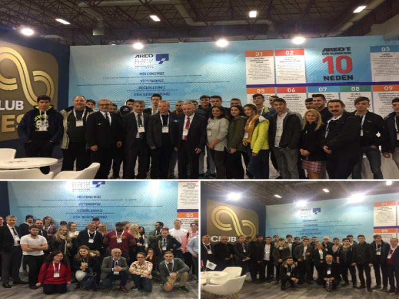 ARED, İş Birliğinde Olduğu Okulları FESPA Eurasia'da Ağırladı