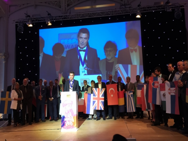 ARED IV. Dönem Başkanı Yaşar Güvenen FESPA'nın 16. Başkanı Oldu