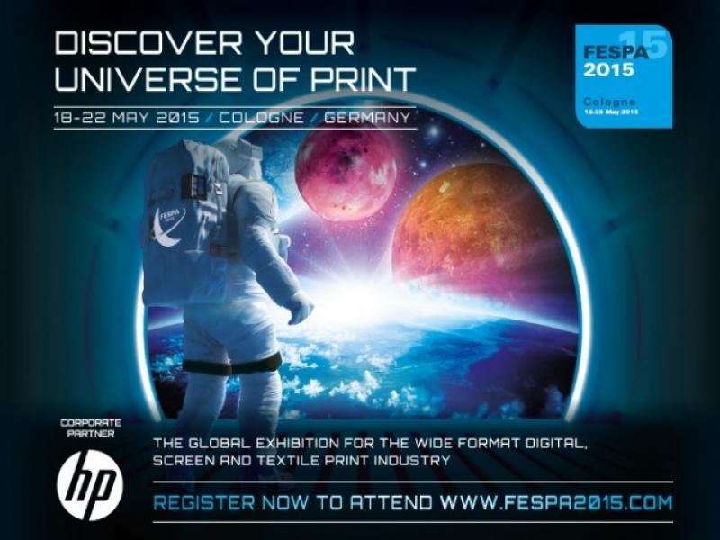 FESPA 2015, 18-22 Mayıs'ta Köln, Almanya'da