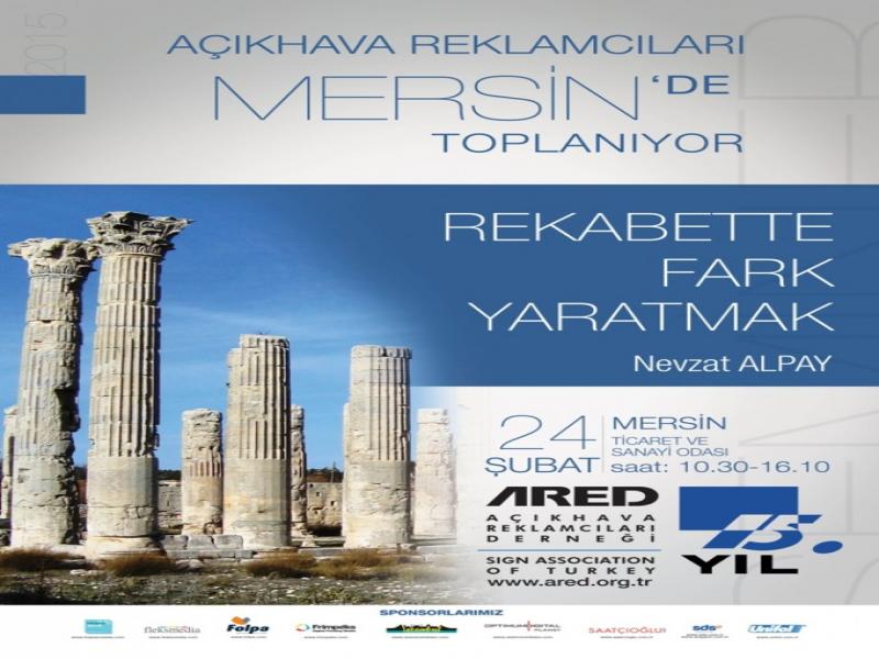 2015'in İlk ARED İl Toplantısı Mersin'de!
