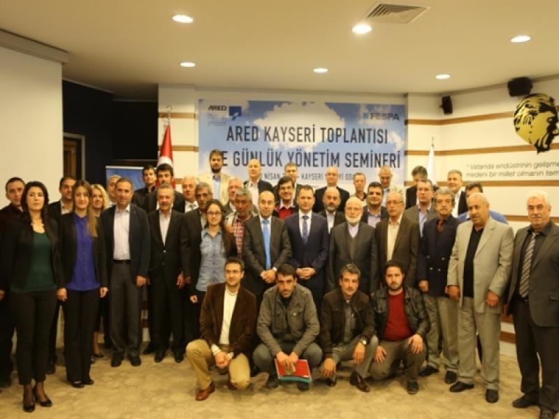 AÇIKHAVA REKLAMCILARI KAYSERİ'DE TOPLANDI