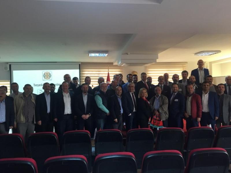 55. ARED İl Toplantısı Samsun'da Gerçekleştirildi