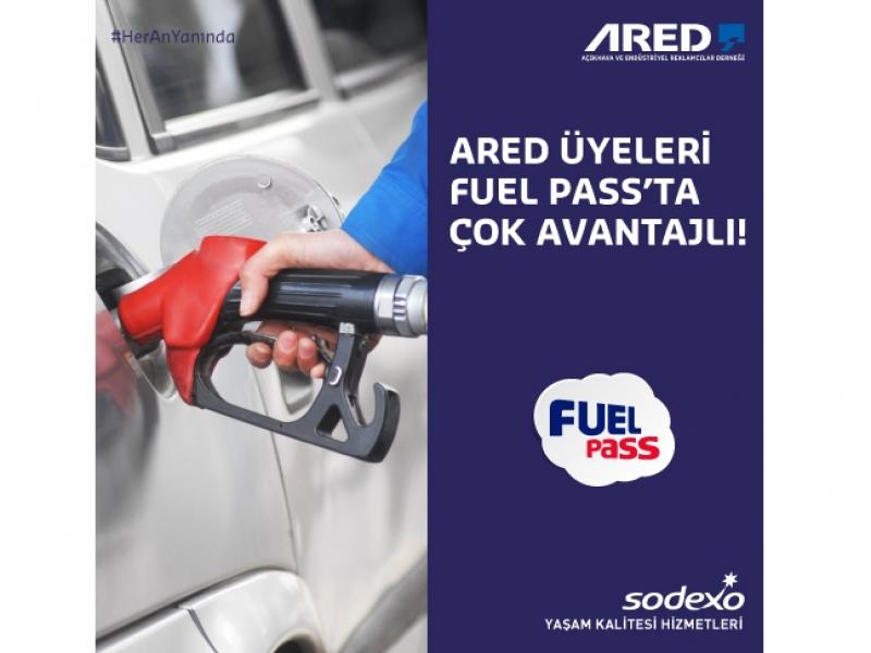 ARED üyeleri Sodexo Fuel Pass'ta çok avantajlı!