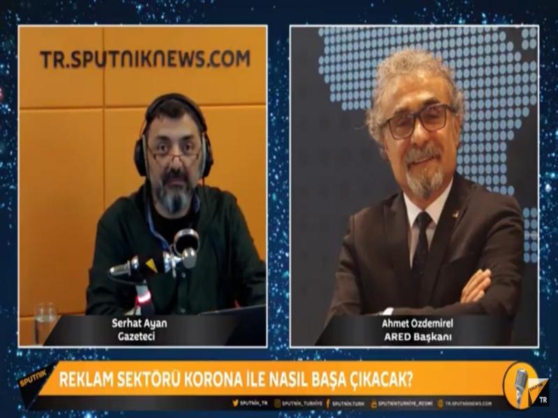 ARED Başkanı Ahmet Özdemirel Radyo Sputnik'te koronavirüsün sektörel etkilerini değerlendirdi