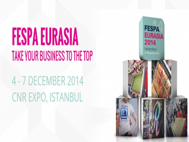 FESPA Eurasia 2014 için Ziyaretçi Kayıtları Başladı