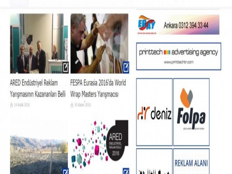 ARED Bülteni İlanları ve Web Sitesi Reklam Alanları