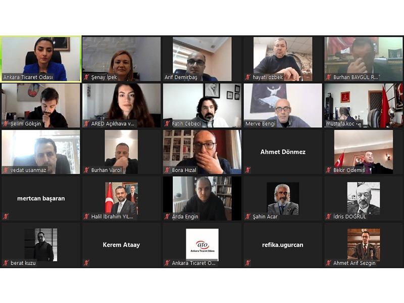 Ankara Büyükşehir Belediyesi Ticari Tabela Yönetmeliği'nin Yenilenmesi Konulu İstişare Toplantısı