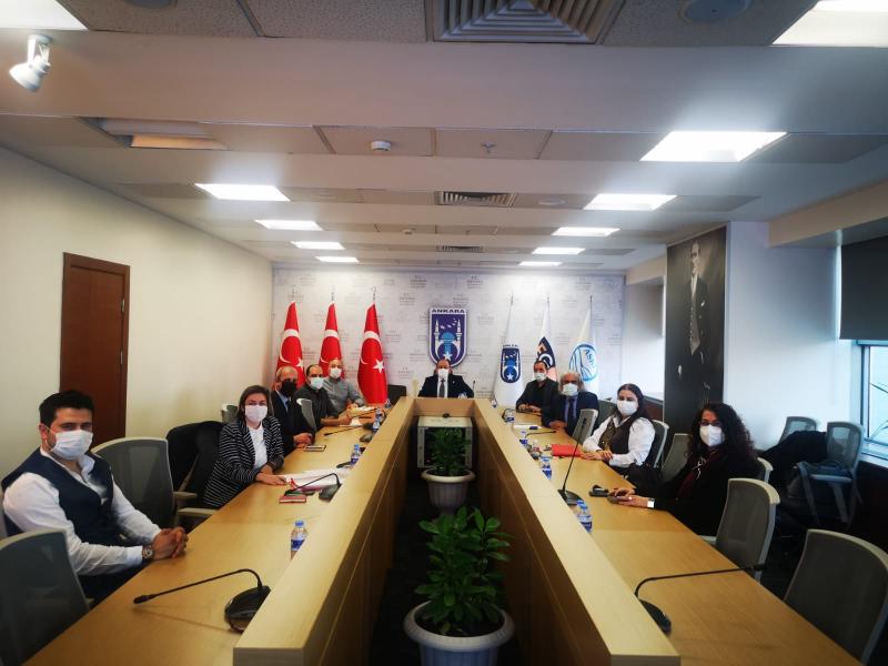 Ankara Büyükşehir Belediyesi, Ticari Tabela Yönetmeliği'nin yenilenmesi konulu toplantılar devam ediyor