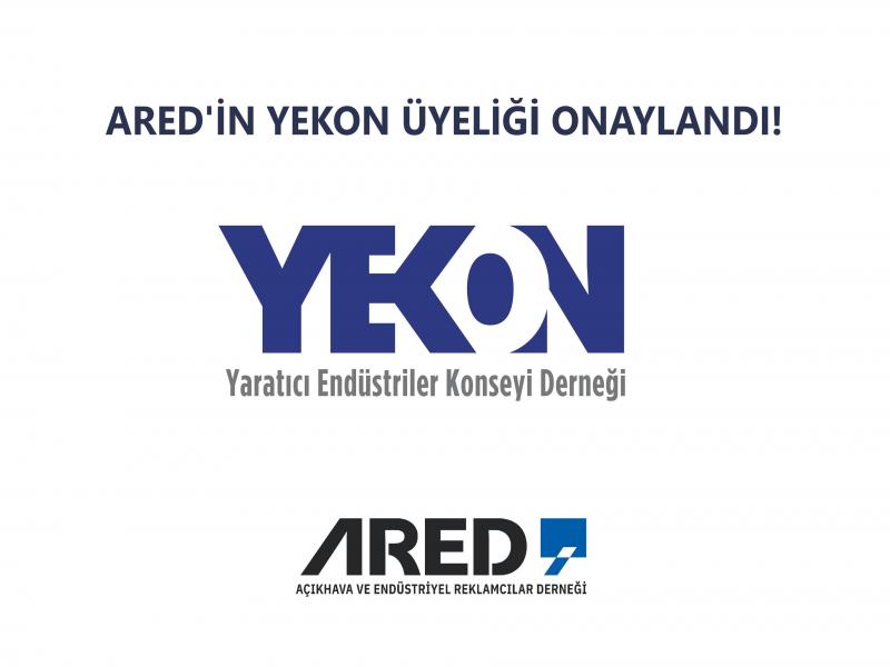 ARED'in YEKON üyeliği onaylandı!