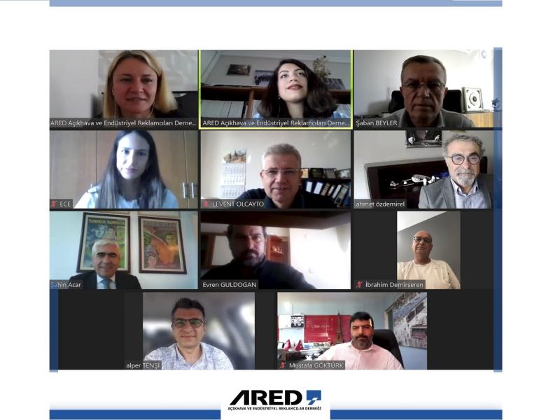 ARED Eylül Ayı Yönetim Kurulu Toplantısı Zoom Üzerinden Gerçekleştirildi