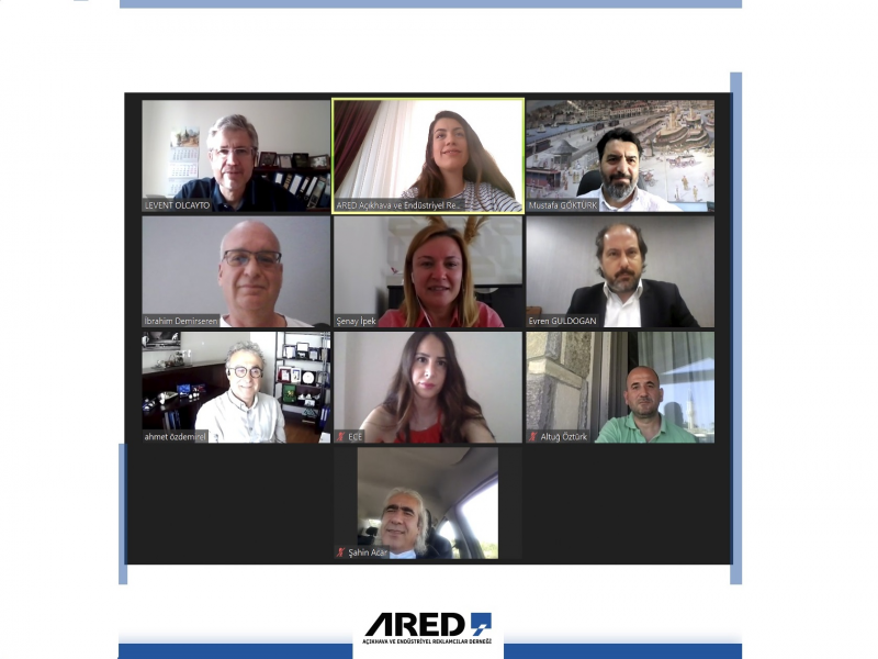 ARED Mayıs ayı Yönetim Kurulu Toplantısı Zoom üzerinden gerçekleştirildi