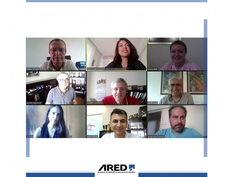 ARED Temmuz ayı Yönetim Kurulu Toplantısı Zoom üzerinden gerçekleştirildi